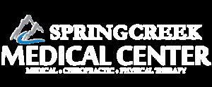 Spring Creek Medical Center Chiropractor Logan Utah Footer Logo